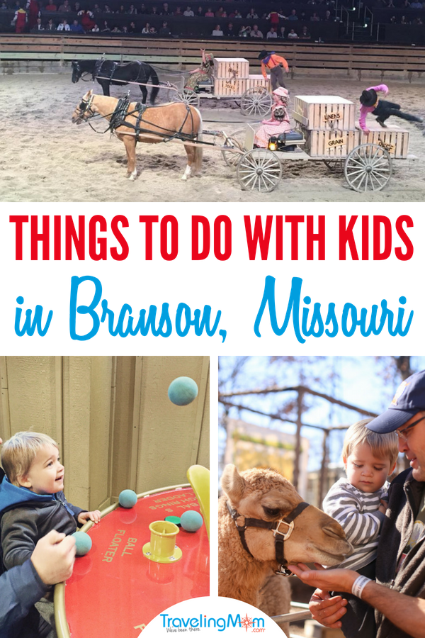 Things to do in Branson with kids that are fun for adults too!