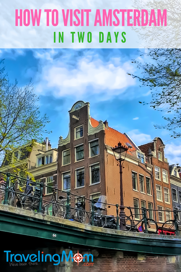 Planning a short trip to Amsterdam? Learn the best strategy on how to visit in two days. #travel #amsterdam #netherlands #holland #intinerary