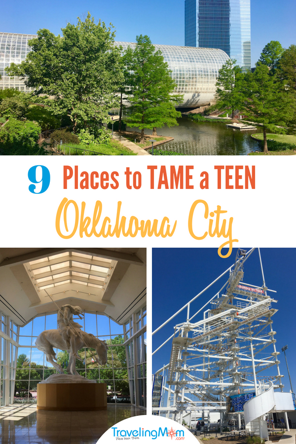 Oklahoma City offers thrills, like whitewater rafting, along with outdoor art, a ballpark, a riverwalk and so much more.