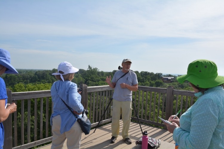 Get a birds eye view at the Hitchcock Nature Center while enjoying all the outdoor activities in Council Bluffs.
