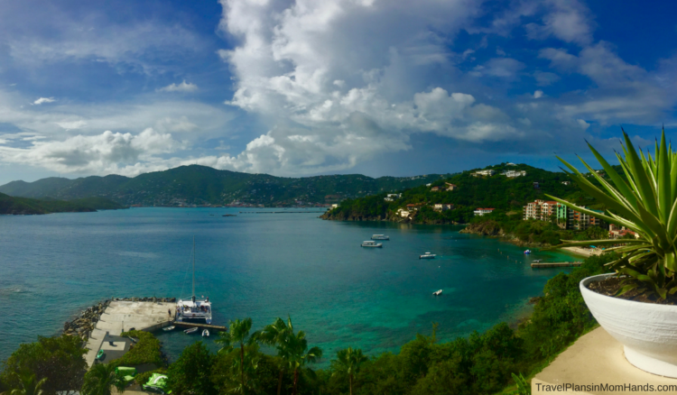 3 Reasons to Buy Travel Insurance for your family may include Caribbean travel during hurricane season like these views from St. Thomas.