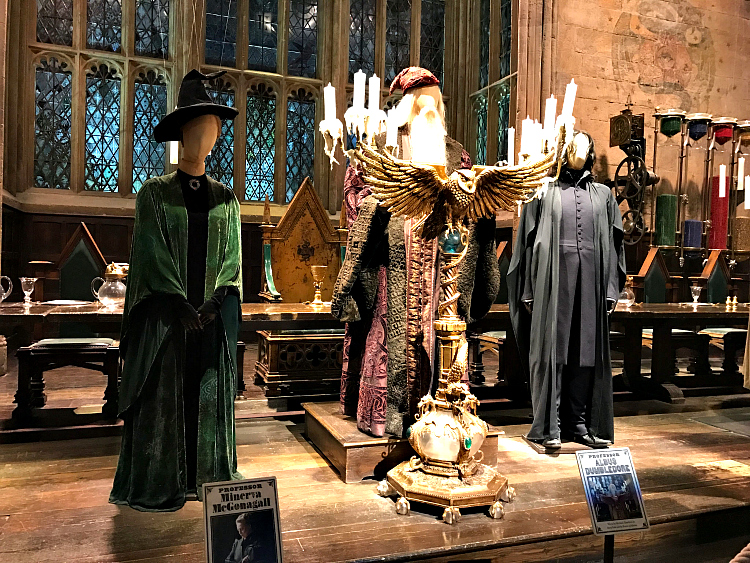 Harry Potter London locations: The Warner Bros. Studio Tour is a must-see for Harry Potter fans in London.