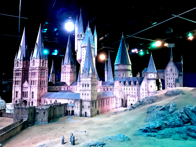 Harry Potter London locations: Hogwarts Castle at the Warner Bros. Studio Tour in London is special for Harry Potter fans.