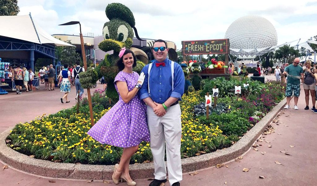 Disneybounding as your favorite character is fun - but photo opps add to the experience!