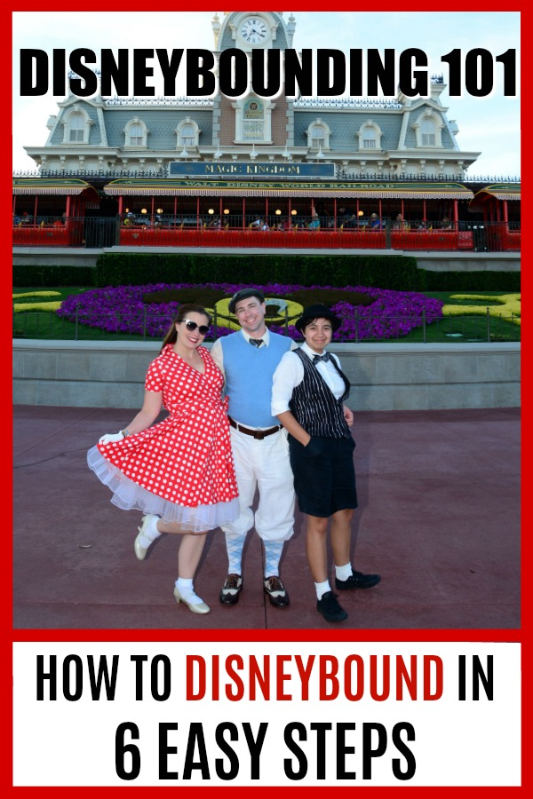 Headed to a Disney theme park and are ready to Disneybound? Here's six easy (and affordable!) tips for Disneybounding and how you can pay tribute to your fave Disney character! #Disney #Disneybounding #Disneybound #TMOM #WDW #DisneyCostume
