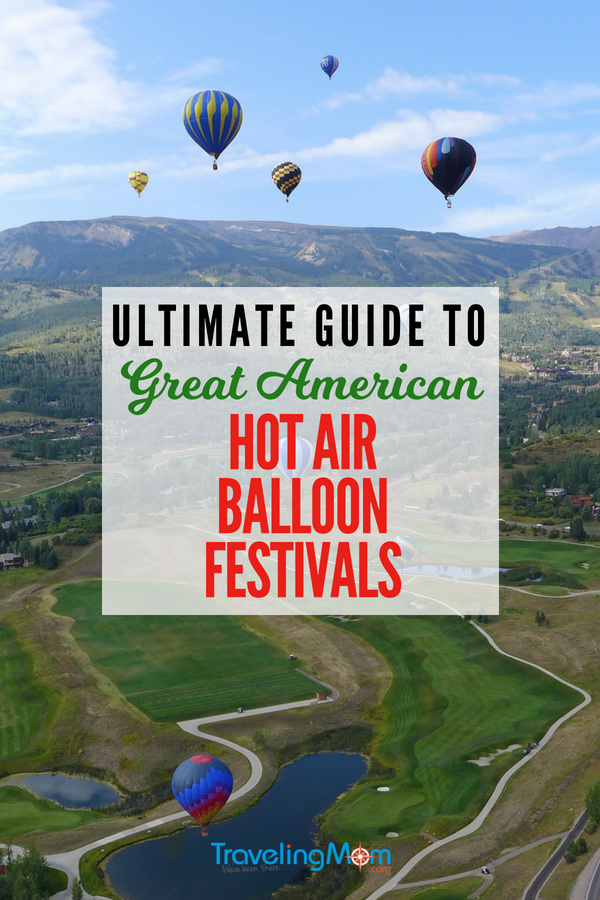 If a hot air balloon ride is on your bucket list, do it this year! Famous places to fly include Cappadocia, Turkey, and the Balloon Fiesta in New Mexico, but there are lots of small, family-friendly and fun hot air balloon festivals in the U.S.. #hotairballoons #bucketlist #familytravel #photography #festivals