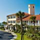 St. Simons Island stretches just 18 miles long with the King and Prince Resort on the beach.