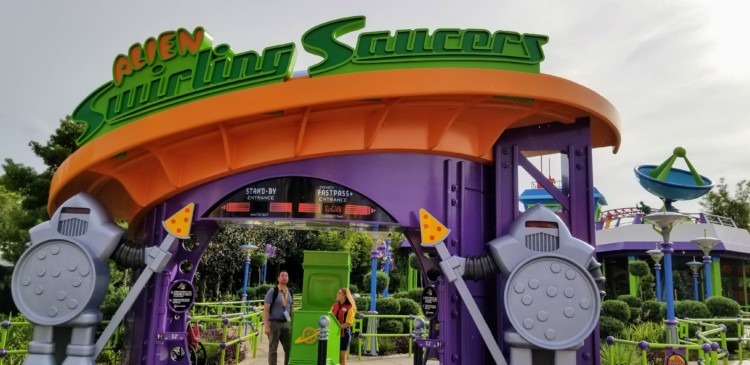 Have your teen try the multiple ride profiles on the Alien Swirling Saucers ride. See if they can pick out the different details in each ride.