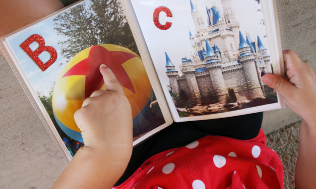 DIY Book Celebrates the ABCs of Disney