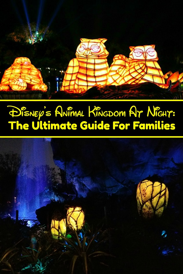 Animal Kingdom At Night - Planning a Disney vacation? If you, you'll want to be sure to visit Animal Kingdom after dark. With Pandora, Rivers Of Light and more, it's not to be missed! #AnimalKingdom #DisneyWorld #Pandora #Orlando #RiversOfLight
