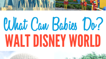 What are the best rides for babies at Walt Disney World? Check out this complete ride guide with everything you need to know about going to Disney with a baby. Includes tips on character greetings, dining and more for babies at Disney World. #Disney #DisneyWorld #TravelwithBaby #FamilyTravel #TMOM #TMOMDisney #TravelwithKids