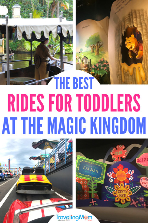 TravelingMom set out to discover the best rides for toddlers at Magic Kingdom, and we found 11 great ones! See which rides we think are perfect for the toddler in your traveling party. #disneytravel #disneytips #travelwithkids #disneyrides #disneyvacation #familyvacation