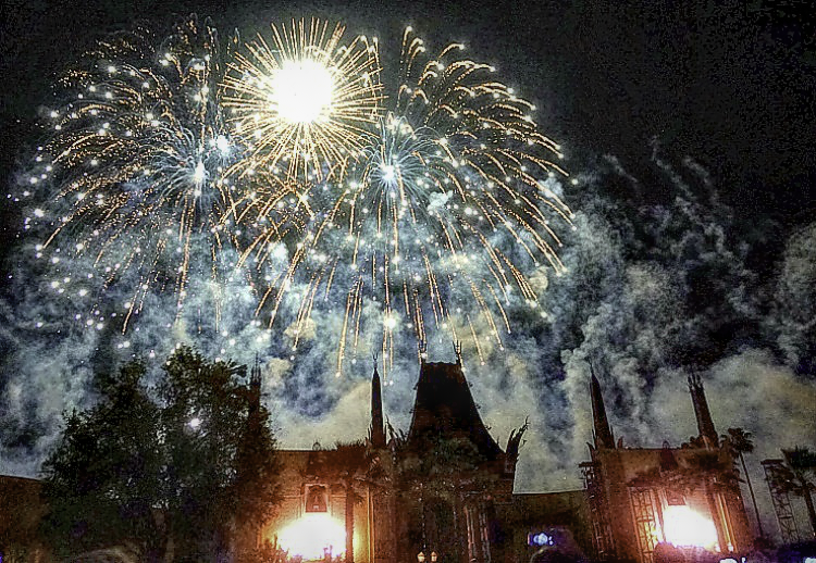 Disney girlfriend getaway. Symphony in the Stars fireworks will end your day at Hollywood Studios.