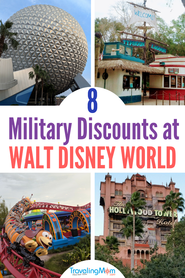 Are you a military family and looking for ways to save at Disney World? Here are 8 of the best military discounts at Disney! #TMOM #militarydiscounts #DisneyWorld #Disney #Disneymilitarydiscounts
