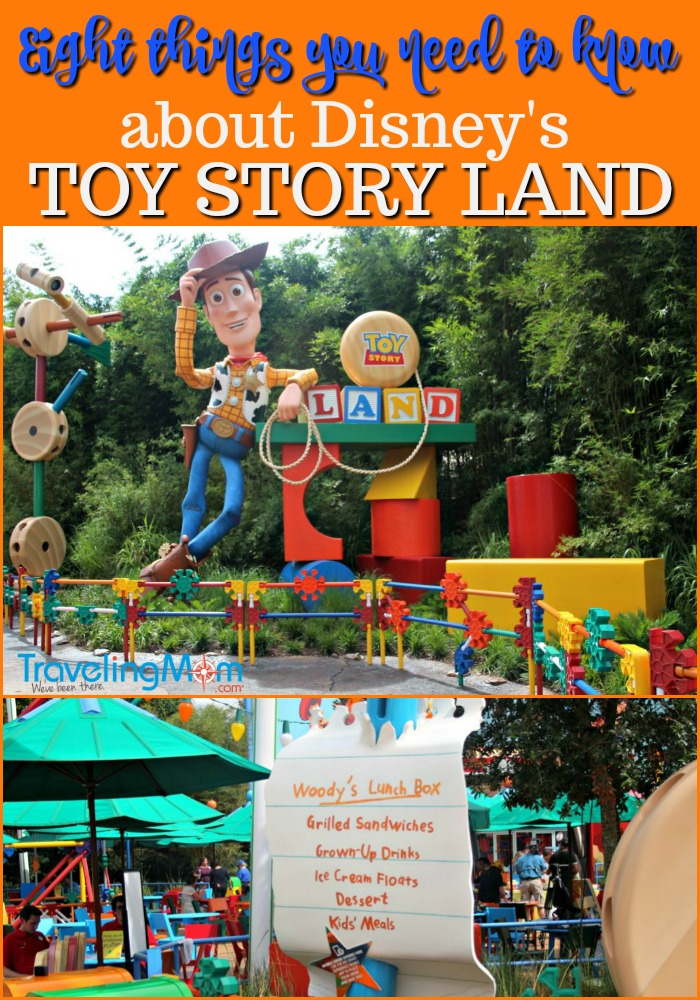 Here are eight things you need to know about Disney's Toy Story Land