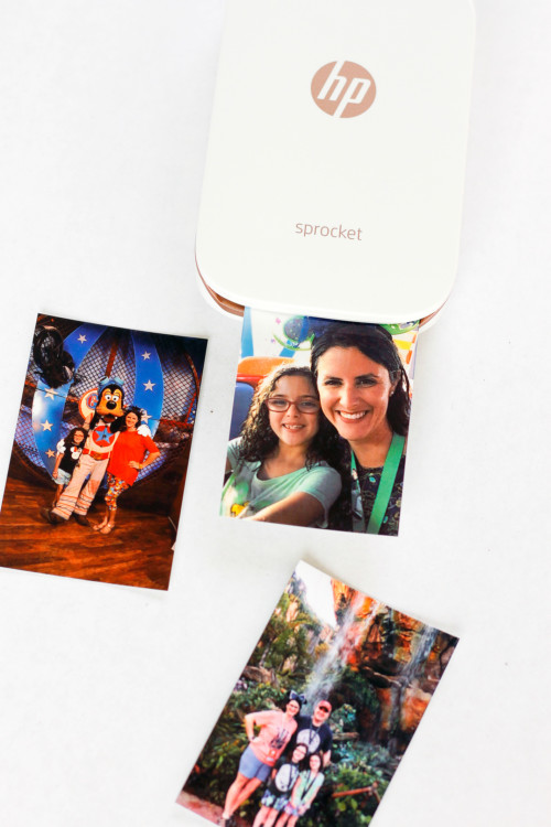 Print your photos with the easy HP Sprocket photo printer.