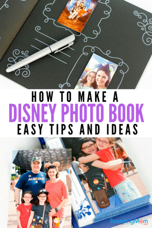 Print those Disney photos! Preserve your memories by following our easy tips for creating a Disney photo book full of fun, lasting memories. It will be a keepsake for years to come. #disneyphotos #vacationphotos #disneytips #disneytravel #tmomdisney #printyourphotos