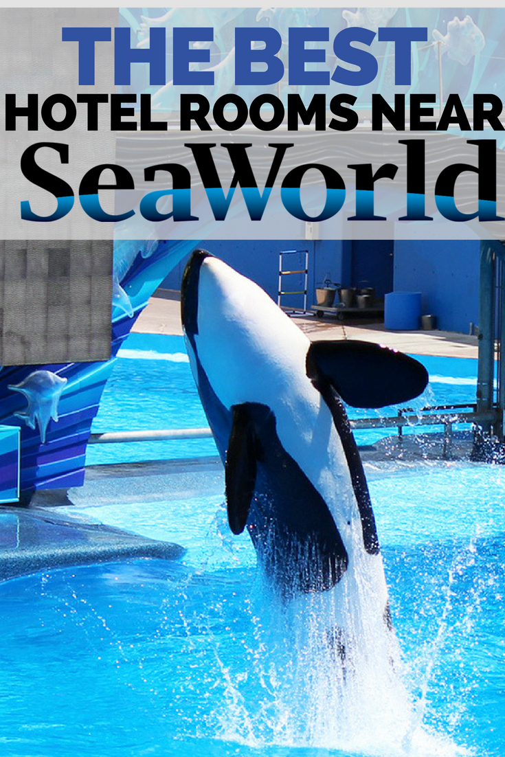 How to find the best hotels rooms near SeaWorld Orlando.