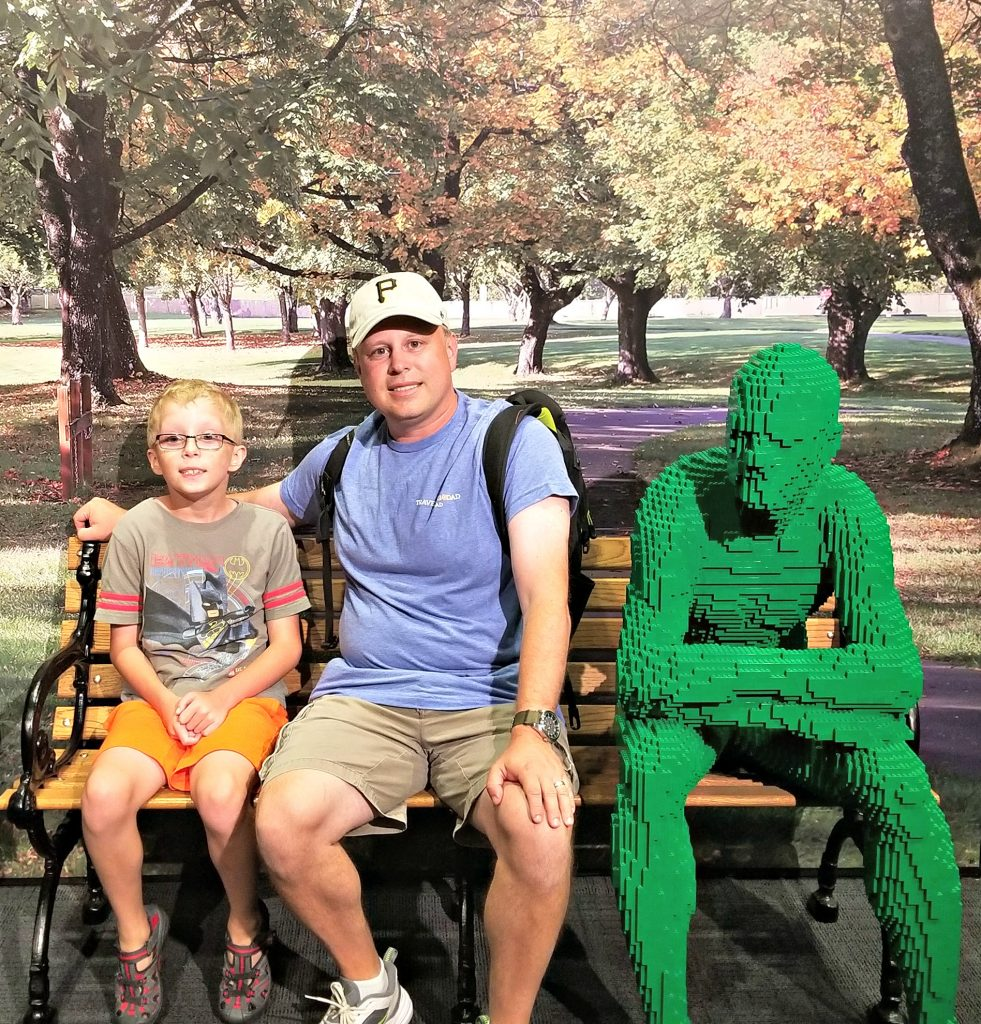 The Art of the Brick at Carnegie Science Center in Pittsburgh PA