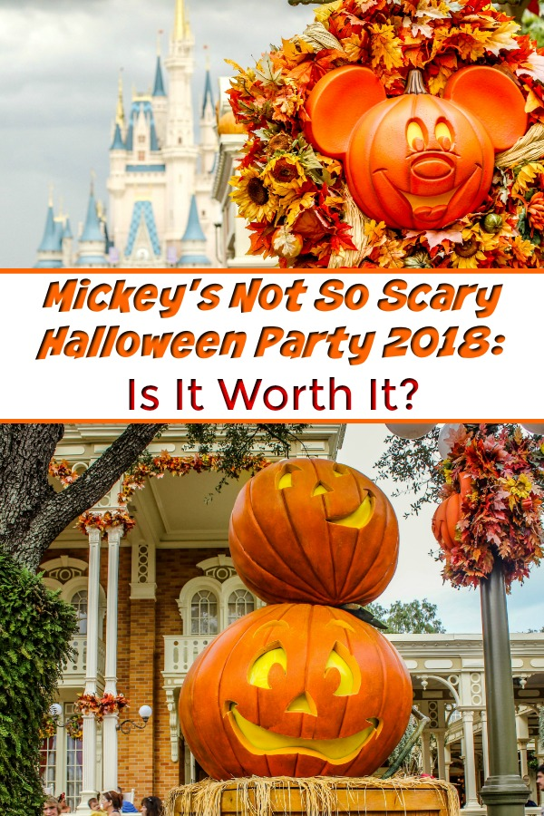 Mickey's Not So Scary Halloween Party 2018 - Is Mickey's Halloween Party worth it? From the Hocus Pocus Villain Spelltacular to the Hallowishes Fireworks show, this special Disney event is totally worth the trip. Plus, nothing beats trick or treating in the Magic Kingdom! #MickeysNotSoScaryHalloween #DisneyWorld #Orlando