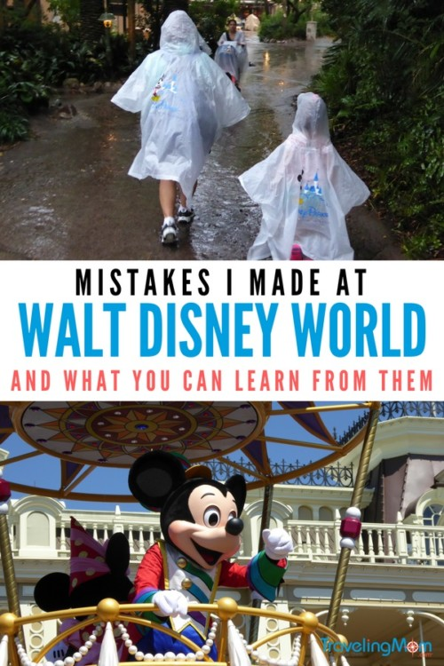 Don't make my Disney World mistakes! Follow these Disney World tips to save on time, money and energy!