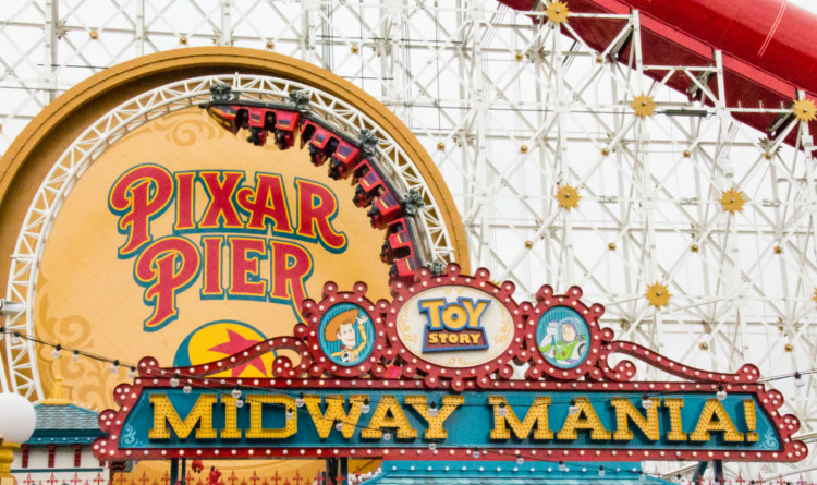 Pixar Pier Parental Guide, Toy Story Midway Mania