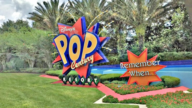 The Newly Renovated Pop Century Resort at Disney World