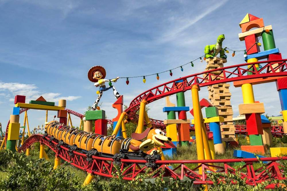 rides in Toy Story Land
