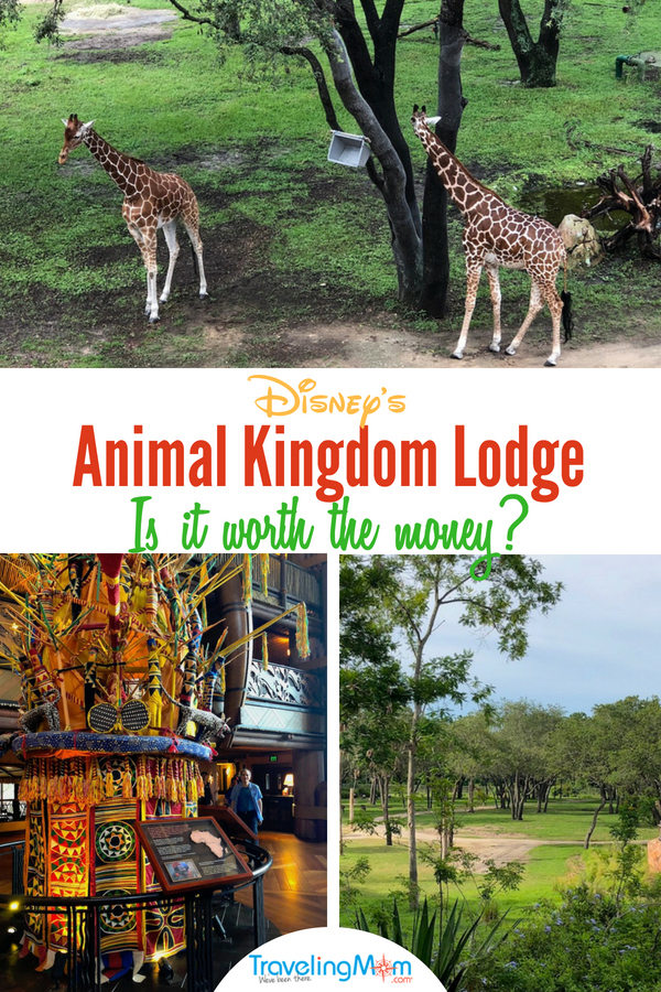 Staying at Disney's Animal Kingdom Hotel is magical. Let this complete review help you decide if it's worth the money. #Disney #DisneyHotels #AnimalKingdomLodge #AnimalKingdomHotel #DisneyHotel