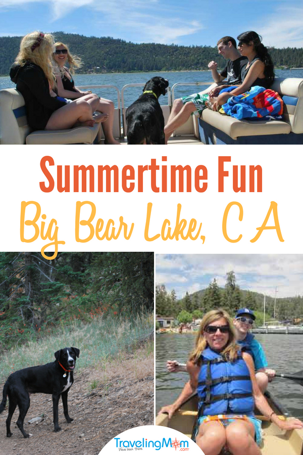 7 things to do in Big Bear in summer include land and water activities. #bigbear.
