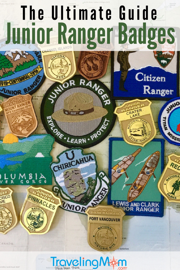 Earn Junior Ranger Badges from Home. Got all the details for Junior Ranger booklets that can be downloaded and printed at home. #NationalParks #NPS #FamilyTravel #JuniorRanger