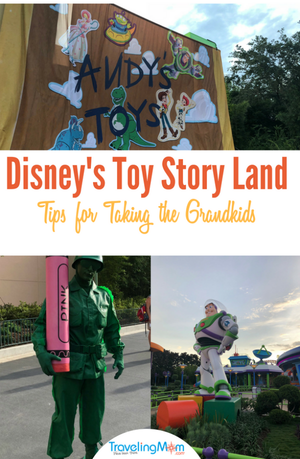 Disney Toy Story Land Grandparent Guide on TravelingMom