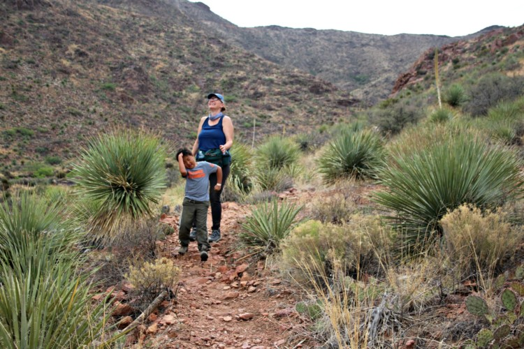 You will want to put Franklin Mountains State Park on your list of fun things to do with kids in El Paso Texas