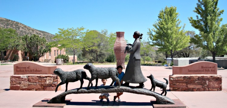 Make sure you add the museum of international folk art to your list of things to do in Santa Fe with kids