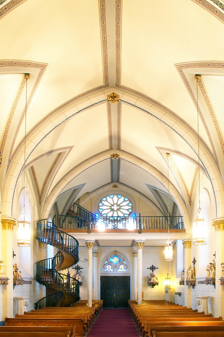 Make sure you add the Loretto Chapel to your list of things to do in Santa Fe with kids