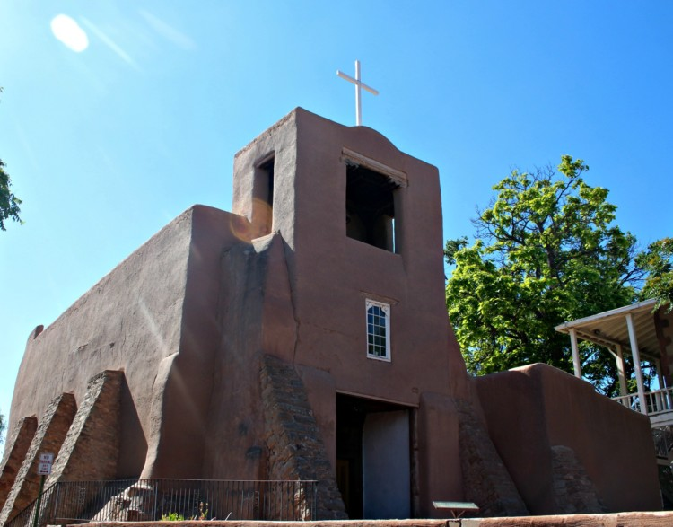 "Put ""visit San Miguel Chapel"" on your list of things to do in Santa Fe with kids"