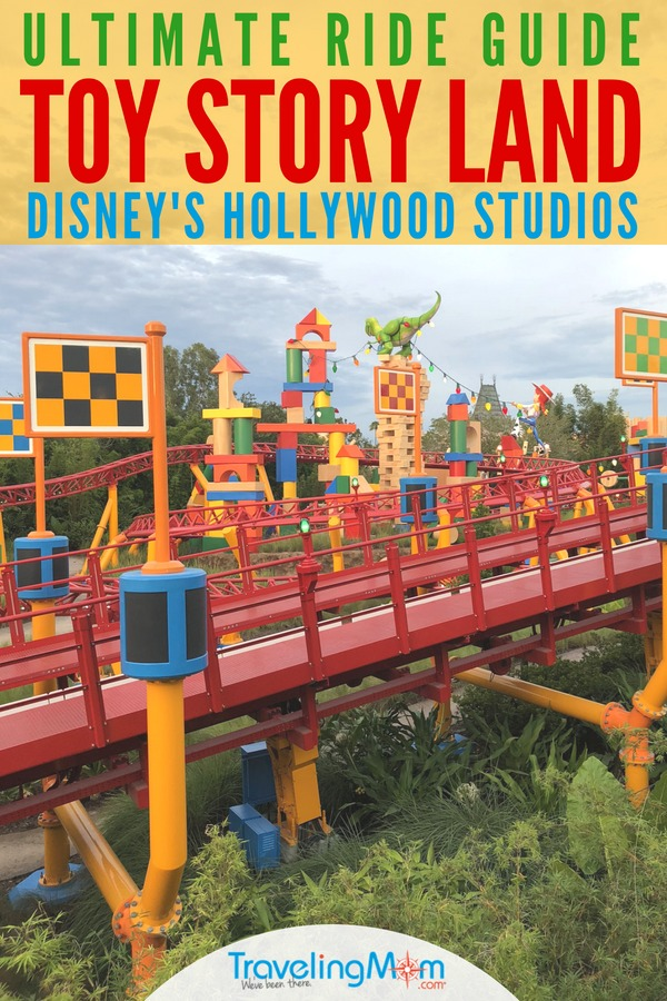 Toy Story Land in Disney's Hollywood Studios is open and we have the ultimate guide to all the new rides! Get the scoop on Slinky Dog Dash, Alien Swirling Saucers, and Toy Story Mania for your next Walt Disney World vacation. #ToyStoryLand #TMOMDisney #DisneyWorld #HollywoodStudios