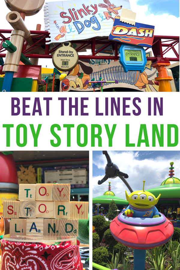 "Howdy, partners! Woody here with some Toy Story Land tips on how to beat the lines and make the most of your time in this new playground in Disney's Hollywood Studios. From mobile ordering to apps that make queue waiting a breeze to rope drop and FastPass strategies, you'll be spending more time having fun on the attractions and not ""infinity and beyond"" in lines! #ToyStoryLand #Disney #HollywoodStudios #TMOM #TMOMDisney"