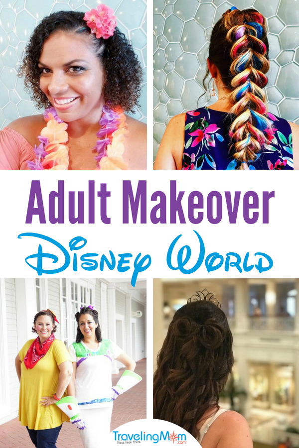 Get your very own makeover at Walt Disney World. Disney Character Couture Packages are offered at 4 different locations. #WaltDisneyWorld #DisneyMakeover #CharacterCouture #DisneyWorld #DisneyVacation