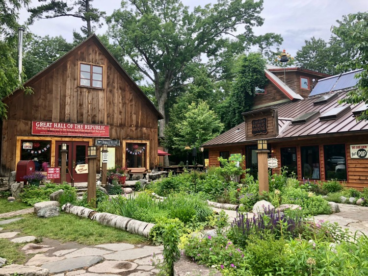 One of the cool things to do in Northern Michigan is to eat your way through the samples of Cherry Republic in the cherry capital of the world.