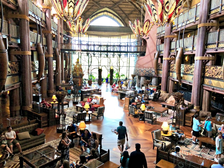 Disney's Animal Kingdom Lodge is one of the coolest places to visit whether you are staying there or not.