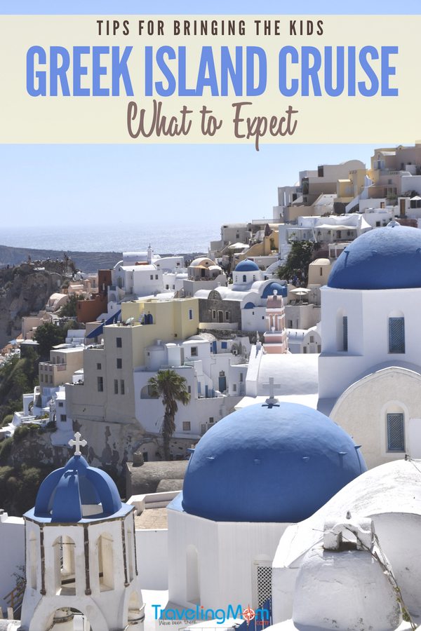 Thinking about taking a Greek cruise vacation? Wondering what it's like? Here's what you need to know including info about excursions, what to pack, foods to try and tips for bringing the kids. If a Greek island hopping cruise isn't on your bucket list, it should be! #Santorini #Mykonos #beachvacation