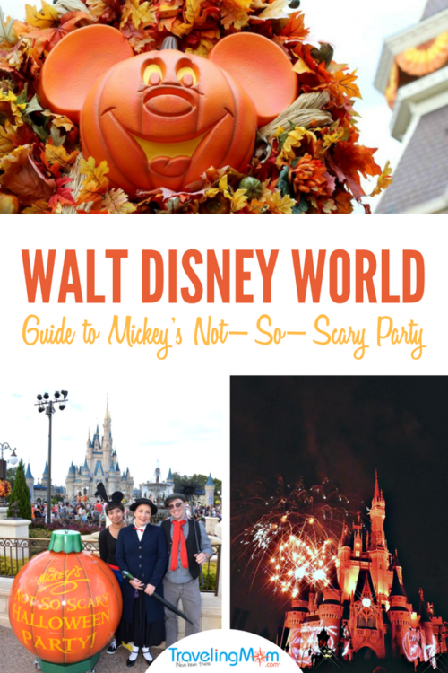 Your Guide to Mickey's Not-So-Scary Halloween Party 2018 at Disney World. 2018 Dates, tickets, costume rules, and insider tips. #Disney #DisneyWorld #Halloween