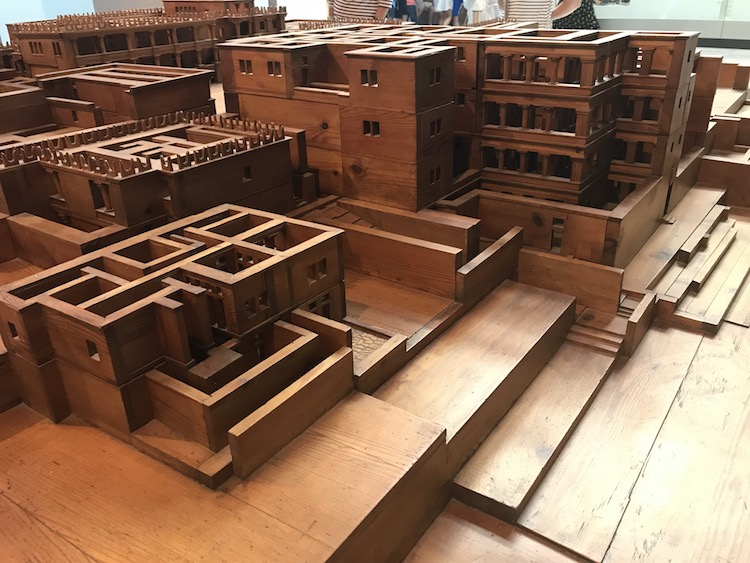 wooden replica of the palace of knossos in Crete, one of the ancient greek ruins to explore on Celestyal Cruises