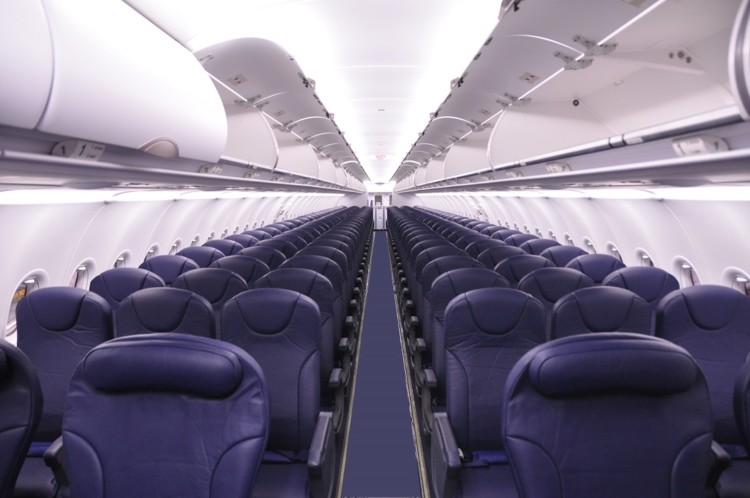 Low cost airlines, like Spirit, offer more rows and less leg room to keep costs down.