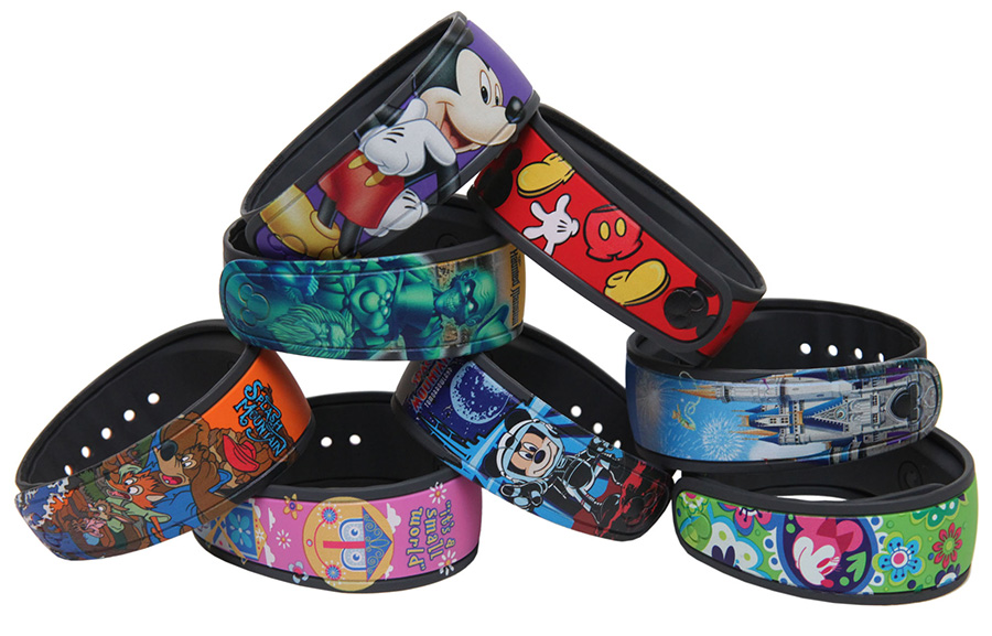 Show off back home with your Magic Band! They're a perfect thing for a preschooler to take to show and tell without worrying they'll lose it.