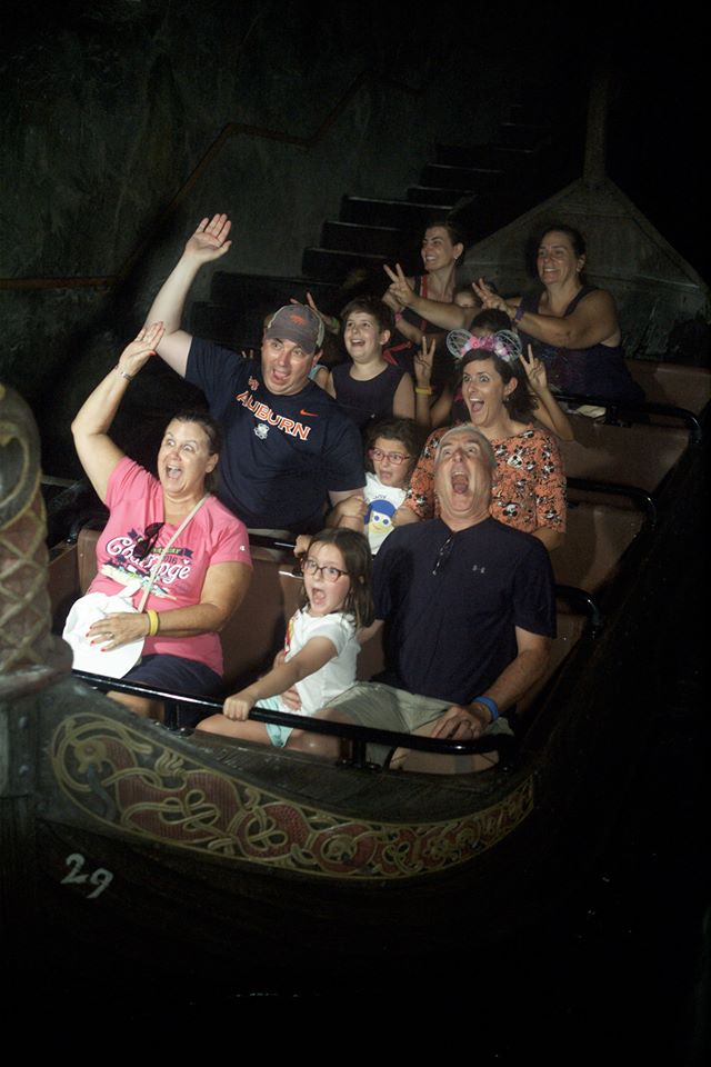 Disney World ride pictures on the Frozen Ever After Ride