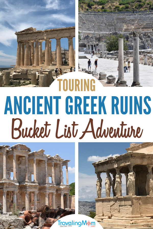 If touring the ancient Greek historic sites like the Acropolis is on your bucket list, you should check out a Greek island cruise. Aboard Celestyal Cruises, you can see many of the most famous Greek ruins in just a week! #bucketlist #Greece #epicadventure