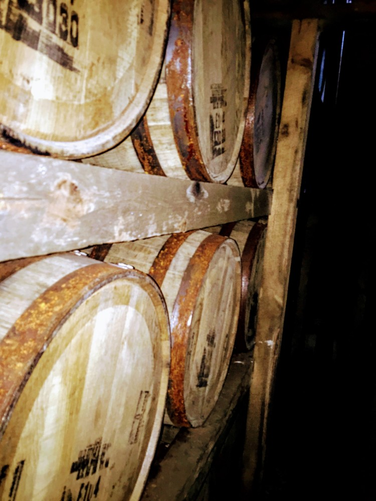 See barrels and barrels of bourbon on the best bourbon tour in Kentucky.