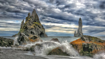 Planning Iceland Road Trip. Renisfjara Balck Send Beach is a must-see in Iceland.